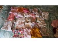bulk baby girl 6-9months clothes