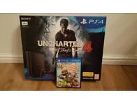 PS4 slim 500Gb brand new with 2 games