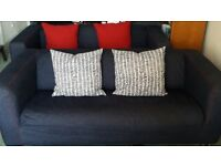 Ikea Klippan Sofas Denim Covers x2 for £130