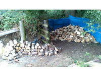 *SEASONED PREMIUM HARDWOOD / SOFTW0OD LOGS FROM 50 POUNDS DELIVERED FREE*