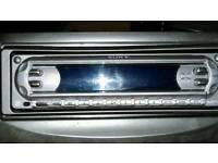 Car CD flip front stereo