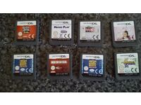 Ds games x 8
