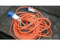 caravan electric lead