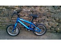 Ridgeback MX 14 kids bike lightweight aluminium frame