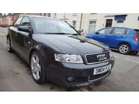 AUDI A4 ,PETROL AUTOMATIC,GOOD CONITION,REDUCED FOR IMMEDIATE SALE,£1950