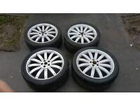 """Range Rover 22"""" Alloy wheels Tigers Stormers 5x120"""