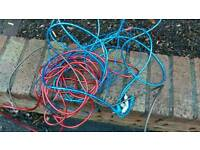 Car amp wiring kit for sub and amp