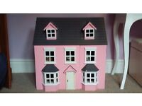 Dolls house complete with furniture