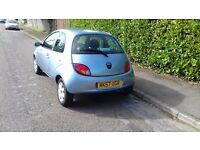 Ford KA 1.3 climate2007 lady owner 44k A/C E/windows+ mirrors mot march FSH excellent condition