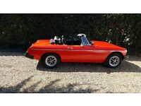 MGB ROADSTER 1978 IN BLAZE