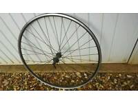 Road bike front wheel rim