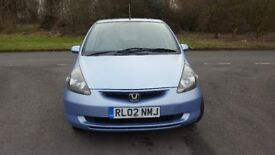 HONDA jAZZ ,AUTOMATIC,LOW MILEAGE ONLY DONE 42600 MILES DRIVES SUPERB,SERVICE HISTORY