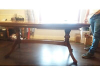 "DINING ROOM TABLE 6FT LONG EXTENION TO 7'6"" no chairs"