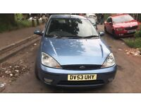 2003 Ford Focus Zetec Tdci 5dr 1.8 Diesel Blue BREAKING FOR SPARES