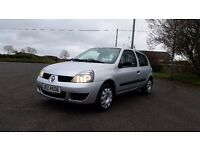 *!*BARGAIN*!* 2008 Renault Clio 1.2 8v Campus **FULL YEARS MOT** **TIMING BELT REPLACED**
