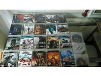 Ps3 250gb and 23 games swap
