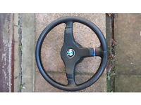 BMW M Tech 1 steering wheel (E30)