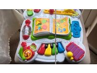 Leapfrog Learn And Groove Musical Activity Table Sounds Lights