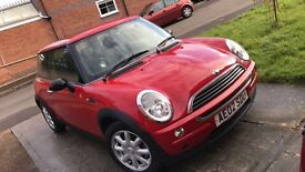 2002 RED MINI ONE - GREAT CONDITION