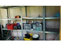 Industrial Aluminum shelves units