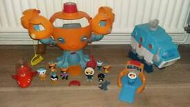 Octonauts toy bundle