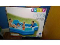 Brand new Intex family pool