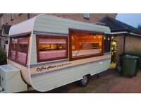 Catering caravan vintage coffee bar