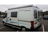 2006 WildAx Aurora - compact 3 birth camper, 4 travelling seats, toilet, shower, lots of storage