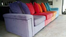 Skittles modular sofa for sale