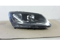 SEAT ALHAMBRA DRIVERS SIDE O/S HALOGEN HEADLIGHT 2011-ON GENUINE PART REF:A10