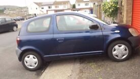 Toyota Yaris 02 for spares and repairs