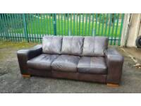 Nice 3 seater Sofa (delivery available)