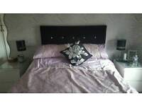 Double bed stead for sale no mattress