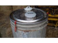 100 Gallon Milk Tank