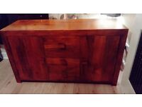 for sale an indian mango wood sideboard excellent cond