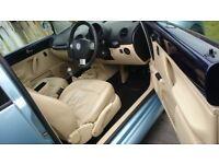 BEETLE 1.9TDI PD 150BHP 65MPG LONG MOT FULL SERVICE HISTORY NEW TIMING AC FULL LEATHER VW ALLOYS