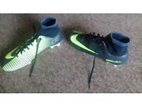 NIKE CR7 MERCURIAL SOCK BOOTS SIZE 7