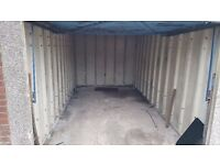 Secure Lock up garage storage containment in Cannock Birmingham