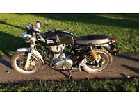 Royal Enfield GT Continental, Black, Low Mileage, 65 reg, *reduced price*