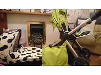 Oyster 1 pushchair and carrycot