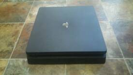 Ps4 mint condition with controller , games , headphones and controlfreaks