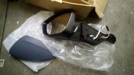 2016 peugeot 208 passenger mirror assembly and glass