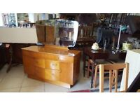 Lebus Vintage Dressing Table With Mirror