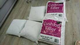5 Cushions All Brand New