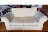 Cream 2-seater sofa free to good home 😊