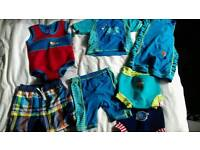 Swimwear bundle 12 -24 months