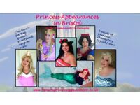 Princess Appearances & Parties in Bristol