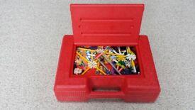 K'nex Construction set bundle in red box