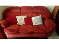 Sofa and chairs for sale