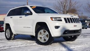 2014 JEEP GRAND CHEROKEE 3.6 L / OVERLAND / BLUETOOTH